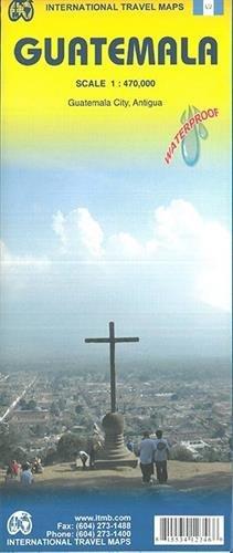 Guatemala 1:470,000 Travel Map (International Travel Country Maps: Guatemala)