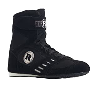 Ringside Power Boxing Shoes (Black, 6)