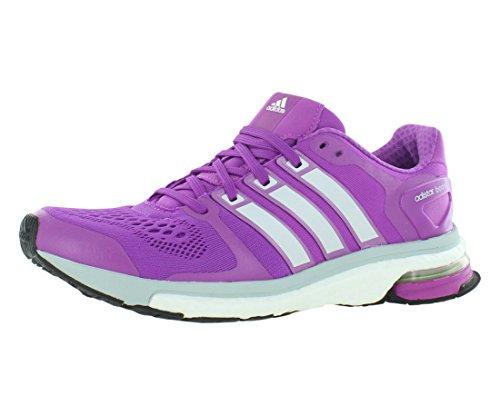 Bar Adidas Racks -  Adidas Women's Adistar Boost W Purple/Grey Running Shoe 8 Women US