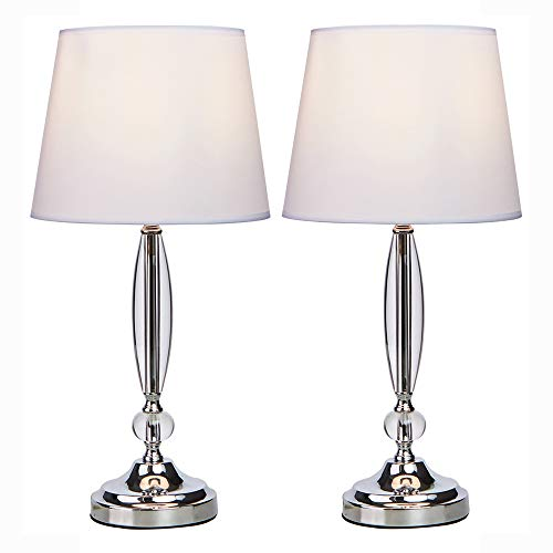 lamps for bedrooms crystal - 9