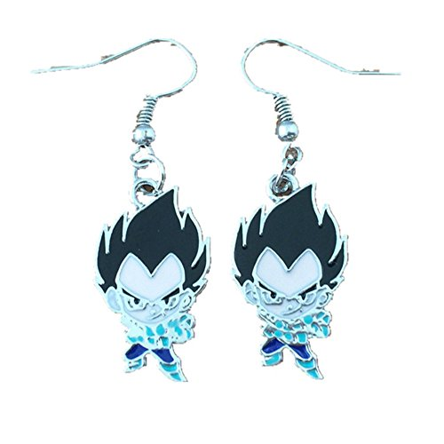 Dragon Ball Z Vegeta Earring Dangles In Gift Box from Outlander (Dbz Vegeta Costume)