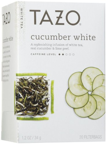 Tazo White Tea (Tazo Cucumber White Tea, 20)