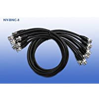 NVT NVBNC8 NV-BNC-8 Coax Jumper Cables (Accessory)