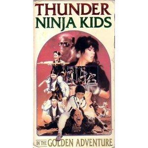 Amazon.com: Thunder Ninja Kids in the Golden Adventure [VHS ...