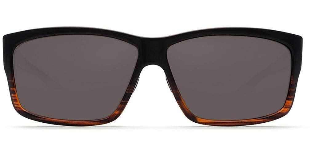 244418b35ff Amazon.com  Costa del Mar Cut Polarized Rectangular Sunglasses ...