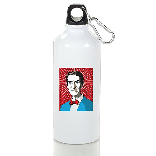 CHTANG7 Bill Nye The Science Guy Aluminum Sports Water Bottle 400/500/600 ML