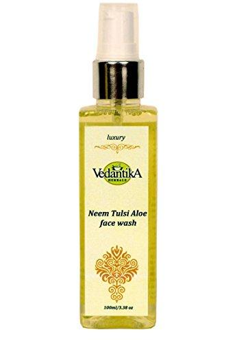 Vedantika Herbals AyurvedicNeem Tulsi Aloe Face Wash 100 Ml