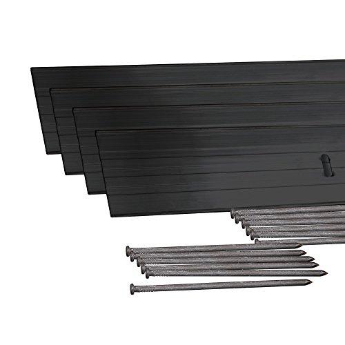 Dimex EasyFlex Aluminum Landscape Edging Project Kit, Will Not Rust Like  Steel, Black (1806BK-24C) - Metal Landscaping Edging: Amazon.com