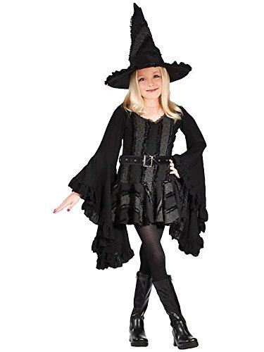Fun World Big Girl's Lg Stitch Witch Rvb Childrens Costume, Multi, Large]()