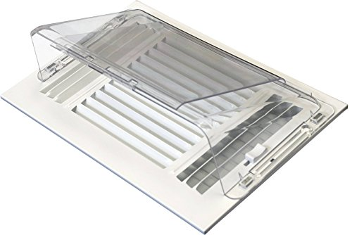 Accord APSWDF Adjustable Magnetic Air Deflector for Sidewall and Ceiling Registers (Covers Vent Plastic)