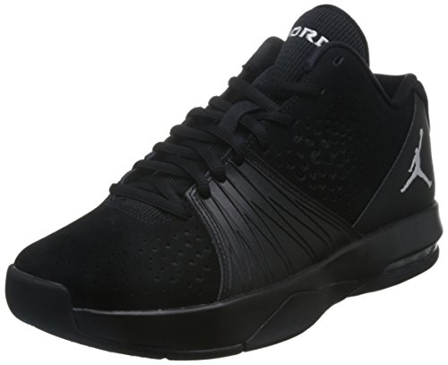 Jordan Sneakers (Nike Mens Jordan 5 AM Basketball Shoe Black/White 12)