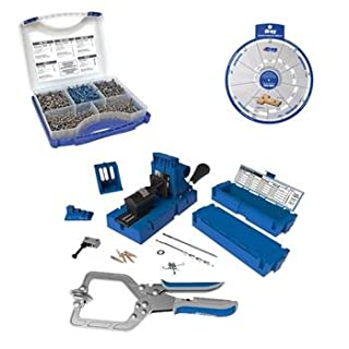 Kreg pocket hole jig k5 do it yourselfore kreg k5ms sk03 675 essential pocket hole screw kit ssw for woodworking diy solutioingenieria Image collections