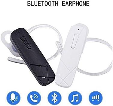 EisEyen - Auricular Bluetooth con micrófono y control de volumen para todos los teléfonos móviles