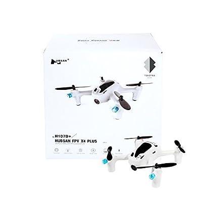 Hubsan FPV X4 PLUS H107D+2.4G 4CH RC Quadcopter Includes BONUS BATTERY (*Doubles Flying Time*)