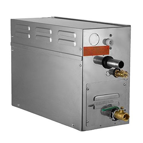 chefstore steam generator shower sauna steamer 7 kw with digital timer temperature control 220v - Steam Shower Generator