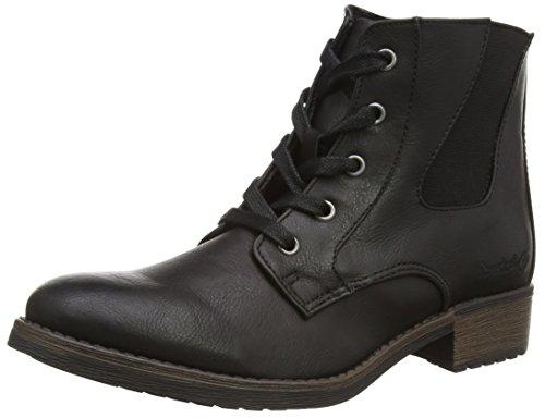 Dockers by Gerli 35IZ305 - botas de combate de material sintético mujer negro - negro