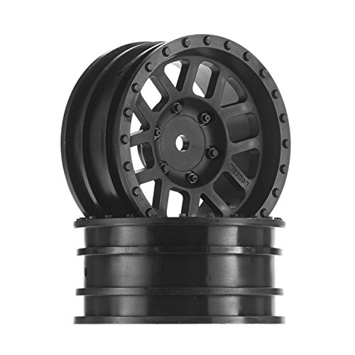Rc Mesh Wheel - AXIAL AX31415 1.9 Method Mesh Wheels Black (2 Pieces)