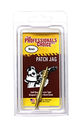 The Professional's Choice Brass Patch Jag, 9mm