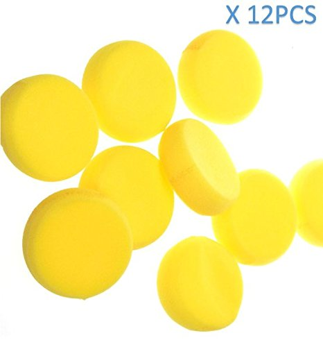 P2P@zita 12 Pcs 4 Round Synthetic Artist Sponges for Painting, Crafts 4336955306