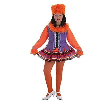 LLOPIS - Disfraz Infantil Rusa Talla 0: Amazon.es: Juguetes y juegos