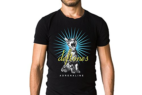 Deftones Like Linus Adrenaline Albums Inspired Cat Black T-Shirt