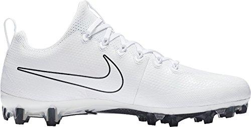 Nike Herren Vapor Untouchable Pro Lacrosse Klampen uns weiß / schwarz
