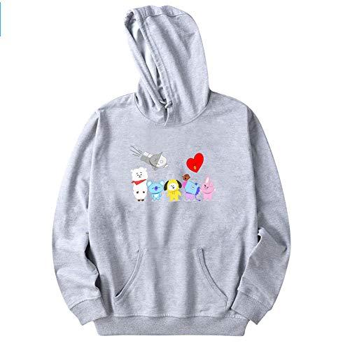 こだわり売るピグマリオンUnisex BTS Hoodies BTS Sweatshirt with Suga Jin Jimin Jung Kook J-Hope Rap-Monster V