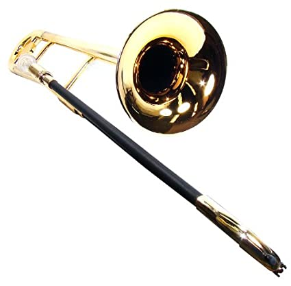 Amazon.com: Tromba dorado metálico para trombón de plástico ...