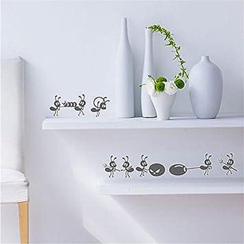 Dekor Einzigartige DIY Plakat vinilos Paredes nette kleine Ameisen ...
