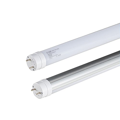 2' Direct Thermal (Hotenda Standard T8 LED Tube High Brightness 2ft 9w Ra80 1000lm (1-Pack White))