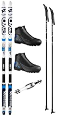 """**Skis, boots & poles are selected according to the customer's height, weight, and shoe size to ensure the proper fit and performance.** Click """"Customize Now"""" to provide your sizing information. This ski package performs well both on groo..."""