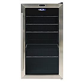 Whynter BR-130SB Beverage Refrigerator with Intern...
