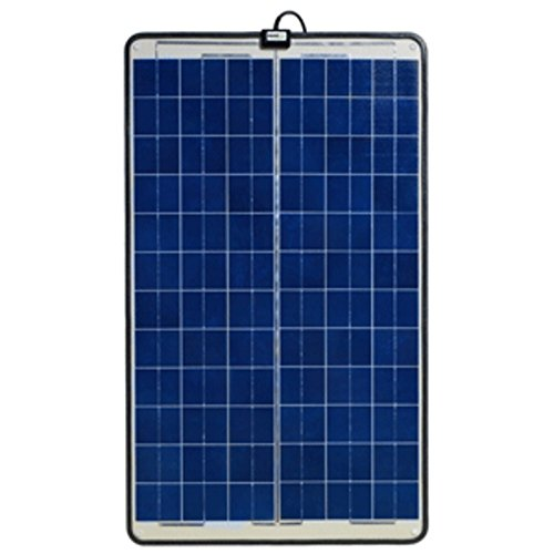 Ganz Eco-Energy Semi-Flexible Solar Panel - 55W Marine , Boating Equipment by Ganz Eco-Energy