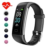 GINOZO Fitness Tracker, Activity Tracker Watch with Heart Rate Monitor, Pedometer IP67 Waterproof
