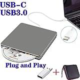 NOLYTH External USB CD DVD Drive USB C Slot-in External CD/DVD Player Burner Drive for Laptop/Mac/Macbook...