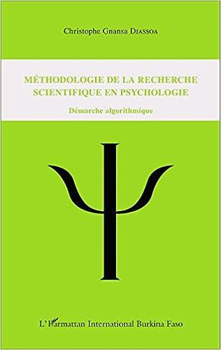 Téléchargement Méthodologie de la recherche scientifique en psychologie pdf ebook