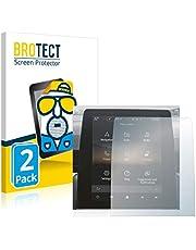 """BROTECT 2x Antireflecterende Beschermfolie compatibel met Renault Captur 2 2020 Easy Link 9.3"""" Anti-Glare Screen Protector, Mat, Ontspiegelend"""