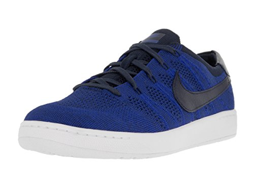 Nike Men Tennis Classic Ultra Flyknit Shoe (College Navy/College Navy-Racer Blue) Size 9 US
