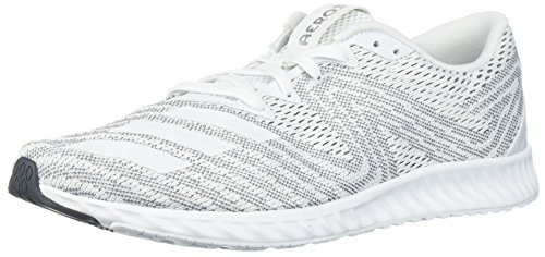 adidas Women's Aerobounce Pr w Running Shoe White/core Black, 8.5 M US ()