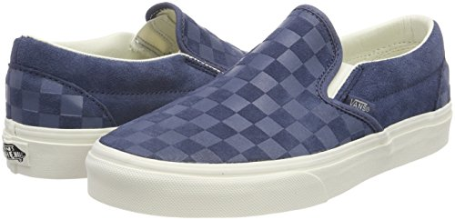 0368189c2c9024 Vans Mens Classic Slip-On (Checker Emboss) Vintage Shoes (13 Women