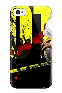 New Cute Funny Highschool Of The Dead Case Cover/ Iphone 4/4s Case Cover wangjiang maoyi