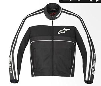 Alpinestars t-dyno aire chaqueta impermeable para hombre negro/blanco: Amazon.es: Coche y moto