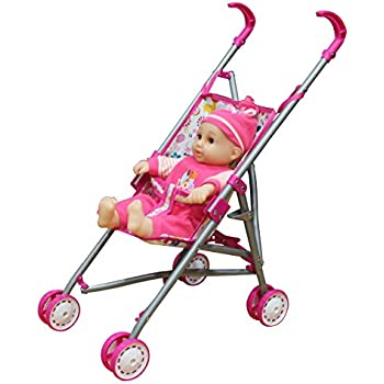 Amazon.com: Kid Connection Baby Doll Stroller Play Set (1