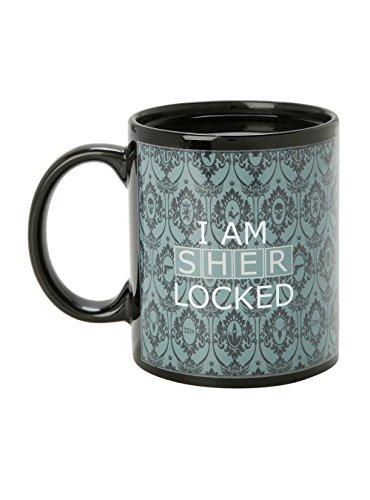 Sherlock I Am Sherlocked Heat Reveal Mug