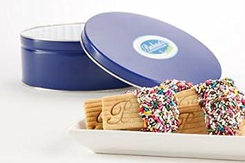 Amazon Com Christmas Gourmet Butter Cookies 2 5 Lb Tin Or Platter