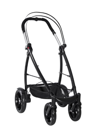 phil&teds Smart Customizable Frame Stroller, Black by phil&teds