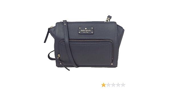Amazon.com  Kate Spade New York Baxter Street Sevilla Leather Crossbody 9b6e3c83d4fc6