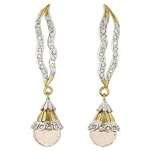 Arabella Luxuries Alloy La Simplicity Victorienne Drop and Dangle Earring