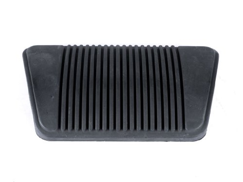 Rubber Brake Pedal Pad for Automatic Transmission fits Dodge Ram DR 2003-2008 w/ Auto Transmission; w/o Power Adjustable (Power Adjustable Pedals)