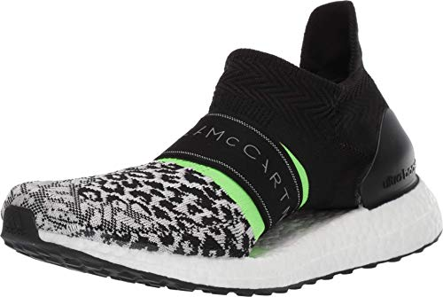 adidas by Stella McCartney Women's Ultraboost X 3.D Black/White/Core White/Solar Green 5.5 M US